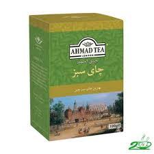 دمنوش چای سبز لاغری احمد