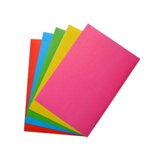 کاغذ رنگی مقوایی پاپکو