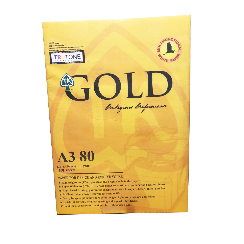 کاغذ A3 گلد (GOLD)