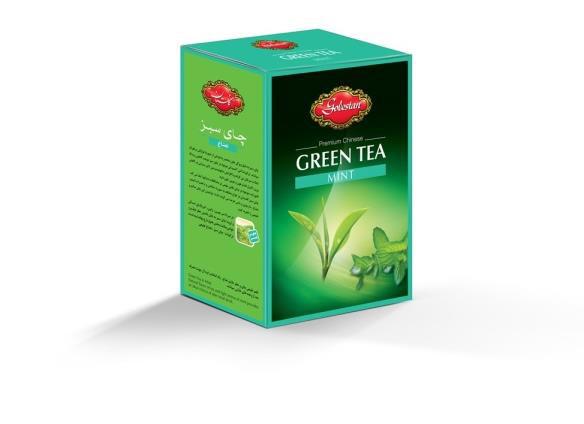 چای سبز و نعناع گلستان