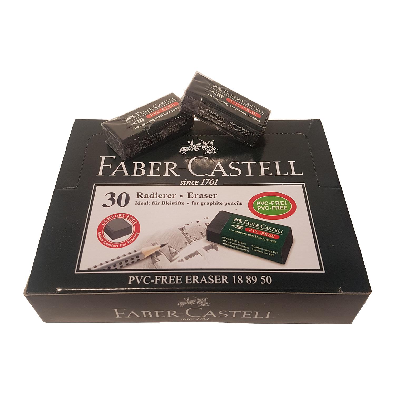 پاک کن 30 مشکی فابر کاستل (FABER-CASTELL)