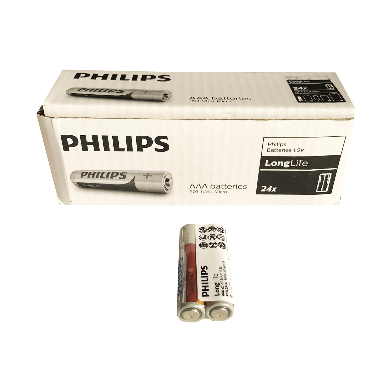 باطری نیم قلمی 2 عددی فیلیپس (PHILIPS)