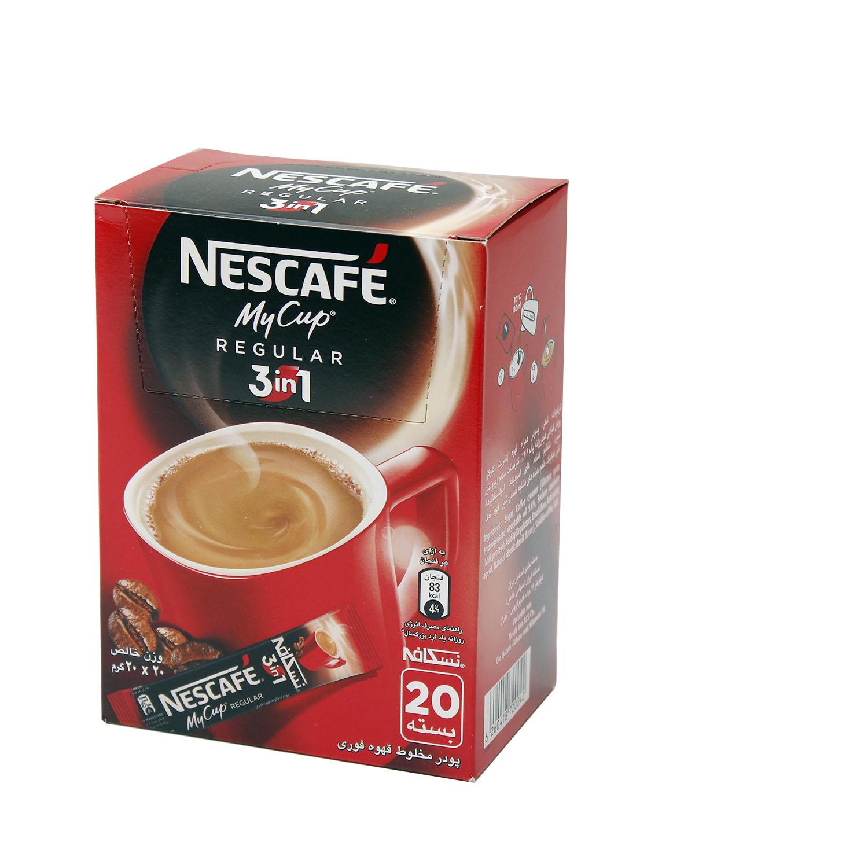 قهوه فوری NESCAFE) my cup)