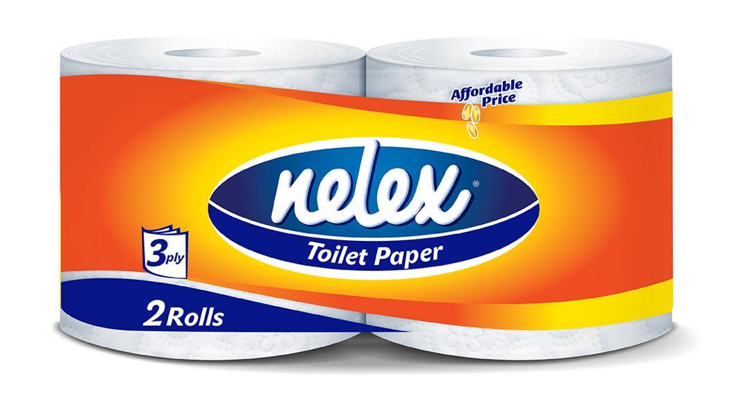 دستمال توالت 2 قلو نلکس