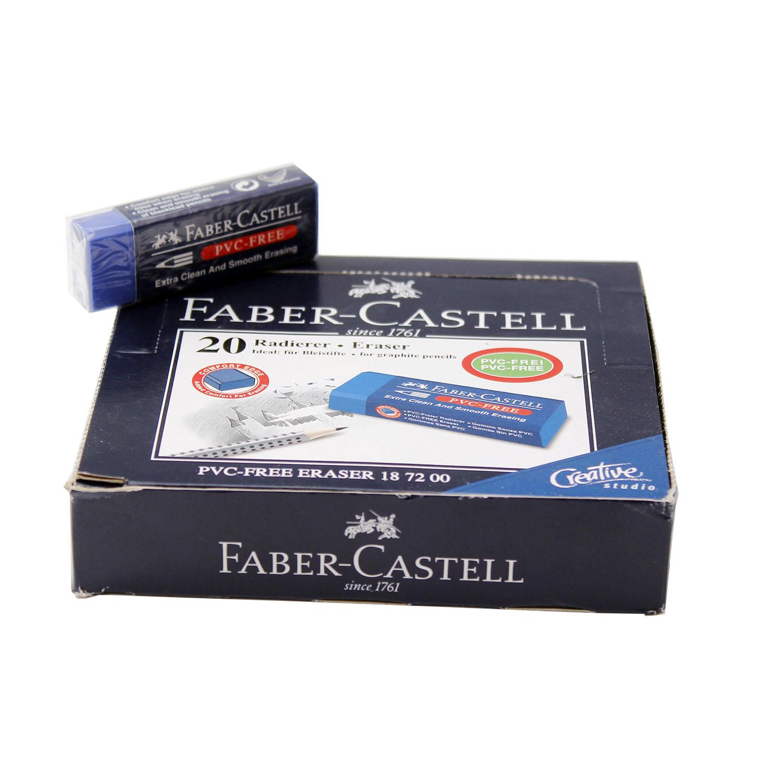 پاک کن 20 آبی فابر کاستل (FABER-CASTELL)