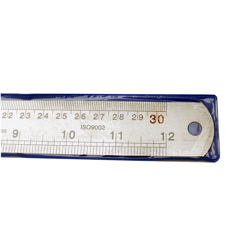 خط کش 30 سانتیمتری فلزی