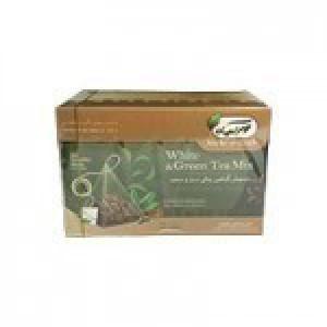 دمنوش گیاهی چای سبز و سفید ( مهرگیاه )