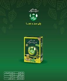 چای سبز و نعنا دوغزال