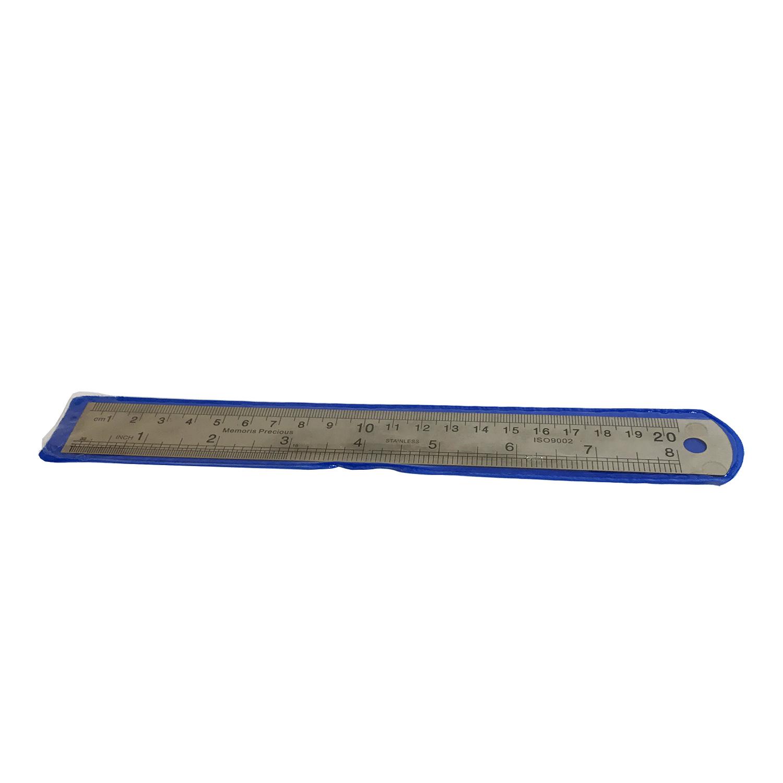 خط کش 20 سانتیمتری فلزی