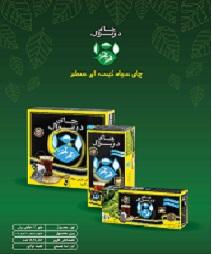 چای سیاه کیسه ای معطر دوغزال