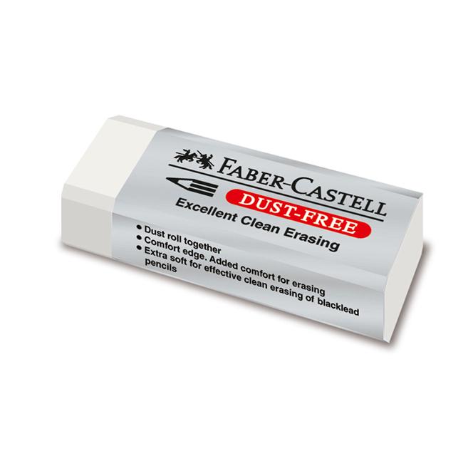 پاک کن 20 سفید فابر کاستل (FABER-CASTELL)