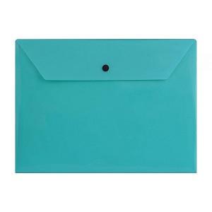 پاکت دکمه دار A4 سبز پاپکو