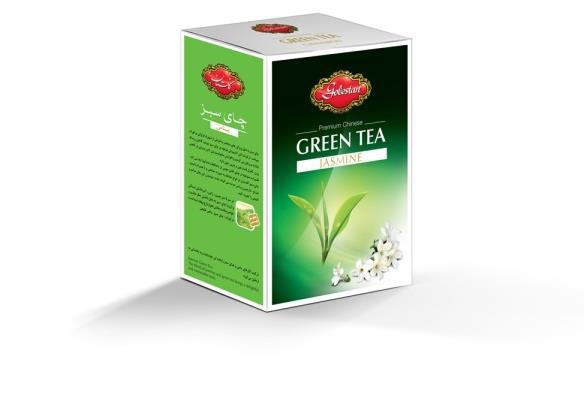 چای سبز و جاسمین گلستان