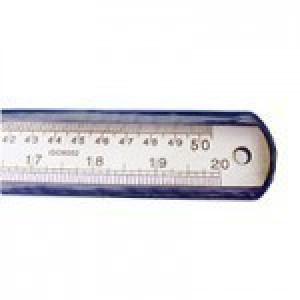 خط کش 50 سانتیمتری فلزی