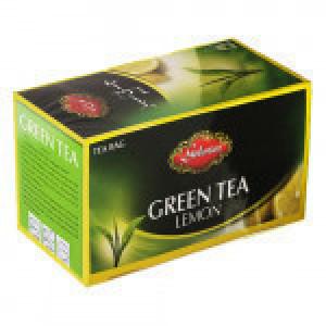 چای کیسه ای سبز گلستان با طعم لیمو