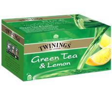 تی بگ چای سبز و لیمو توینینگز