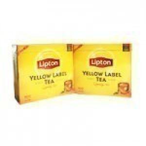 چای کیسه ای 100 عددی (Lipton) زر نشان