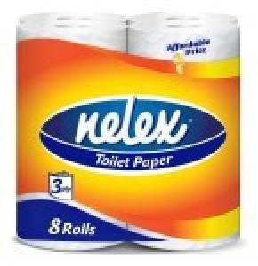دستمال توالت 8 قلو نلکس