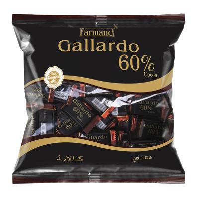 شکلات تابلت گالارد تلخ 60% پاکتی 330 گرم