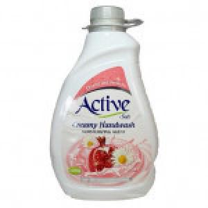 مایع دستشویی کرمی 2لیتری صورتی اکتیو